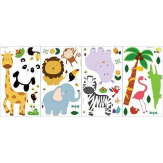 Stickers Jungle Room Decor Safari Decals Kids Monkey Lion BM1