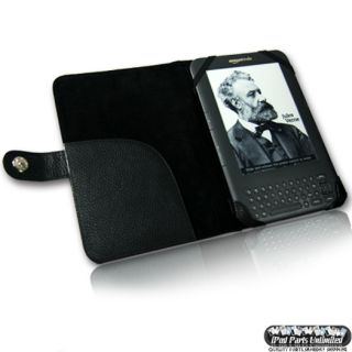 Genuine Leather Case Cover for  Kindle 3 3G WiFi