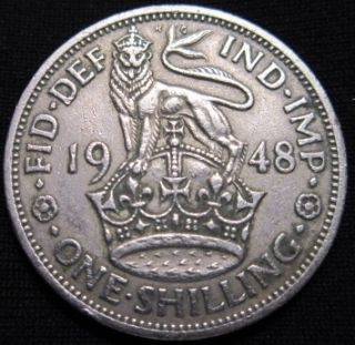 Great Britain 1 Shilling 1948 King George VI