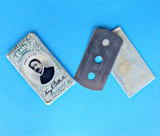Antique VINTAGE Gillette Razor BLADE Shaving Double Edge King Original