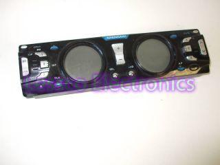 Kingwood Dual Knob Detatchable Car Stereo Face Plate
