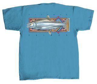King Salmon Short Sleeve Tee Shirt