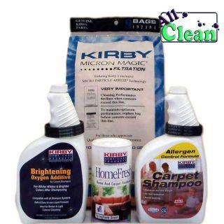 Kirby Vacuum Bags Carpet Shampoo Oxygen Additive More