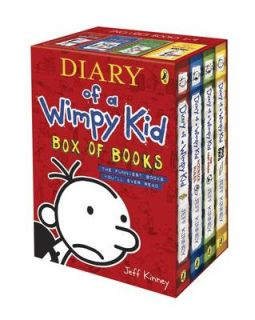 Kid Box of Books by Jeff Kinney Paperback 2011 9780141341415