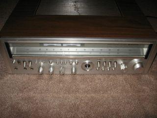 Vintage Silver Face Sanyo JCX 2900K Stereo Receiver WOW NR 450 Watt