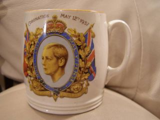 1937 British Anchor H M King Edward VIII Coronation Cup