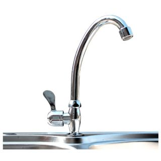 Kitchen Faucet Bath Bathroom Basin Single Handle 360 Degree Swivel Tap