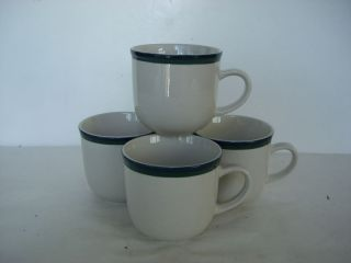 Tienshan Kitchen Basic Colors Blue Green Coffee Cups