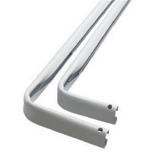 Levolor Kirsch A7004213278 Heavy Duty Double Curtain Rod 84 to 120