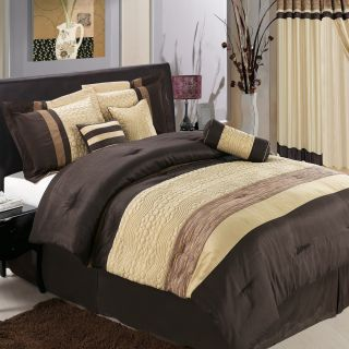 Luxury Fine Bed Linens Queen King Comforter Set Royal Hotel Collection
