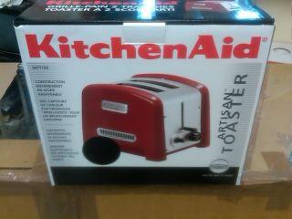 Volt KitchenAid Artisian Toaster Kitchen Aid 5KTT780E Toaster