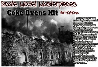 COKE OVENS KIT SCALE MODEL MASTERPIECES/YORKE/FSM HO/HOn2/HOn30 *BRAND