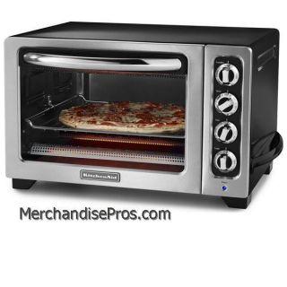 KitchenAid Extra Large 1440 Watt Onyx Black Convection Toaster Oven
