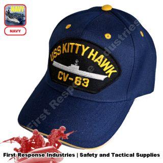 USS Kitty Hawk CV 63 Battle Cat Aircraft Carrier Supercarrier USN Navy