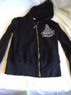 American Buddha Black sweat Shirt Size Small