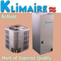 Klimaire 4 Ton 14 SEER Ducted Air Conditioner Cooling