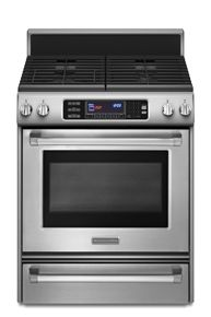 Kitchenaid® Dual Fuel Convection 30 Pro Line™ Stainless Steel