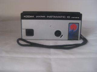 KODAK POCKET INSTAMATIC 10 110 FILM CAMERA OUTFIT ORIGINAL BOX GE