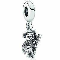 Pandora Sterling Koala Bear Dangle Charm 791085