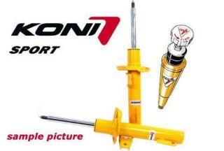 2X Koni Sport Yellow Front Shocks Renault Clio 2 98 11 8710 1379SPORT