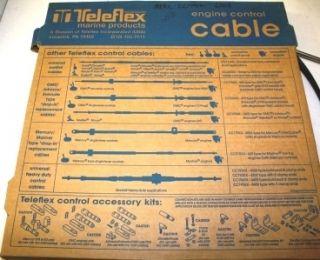 New Teleflex Morse CC17011 OMC 11 Control Cable Pre 79