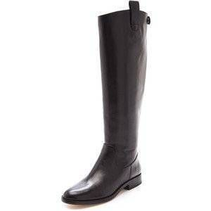 Kors Michael Kors Mariel Black Leather Riding Boots Sz 10