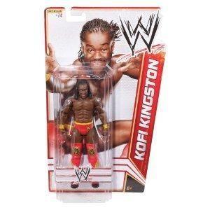 Kofi Kingston WWE Mattel Basic Series 15 Action Figure Toy