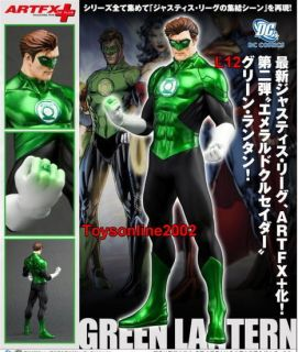 Kotobukiya 1 10 ARTFX Justice League Green Lantern NEW52 Ver PVC
