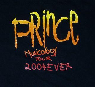 Musicogy Concert Tour T Shirt L Michael Jackson Lenny Kravitz