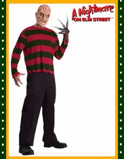 Freddy Krueger Nightmare on Elm Street Adults Costume