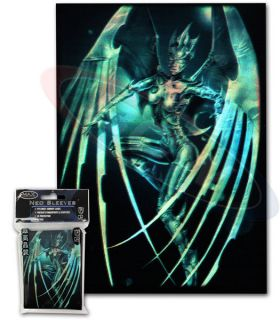 100 Max Protection Cyber Angel MTG standard Size Card Sleeves Deck