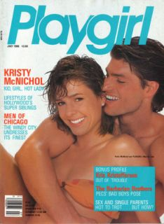Playgirl July 1986 Kristy McNichol Barbarian Brothers