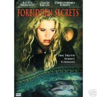 Forbidden Secrets RARE Unrated DVD Kristy Swanson