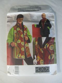 Vogue Sewing Pattern Koos Van Den Akker Couture Reversible Jacket 2709