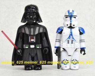 Kubrick 2012 Star Wars Darth Vader 501st Legion Clone Trooper 100 Box