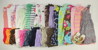 HUGE USED Toddler Girl 18 24M 2T Spring Summer Clothes Lot Gymboree