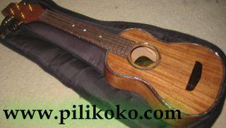 Koa Pili Koko Ukulele Deluxe Soprano Solid Acacia Wood