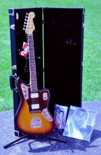 Fender Kurt Cobain Jaguar Signature Electric Guitar w/ Case Road Worn