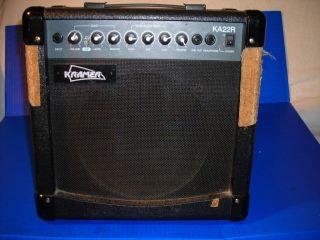 Kramer KA22R Electric Guitar Amplifier Amp 8ohms 40w Max 20w RMS