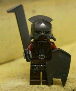 Lego Lord of the Rings Uruk Hai Army 9471 Uruk Hai Minifigure #4 New