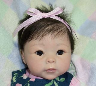 Reborn Asian Baby Girl Kym Linda Murray Tami Doll