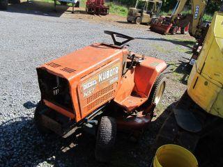 Kubota G6200 Lawn Mower Garden Tractor Diesel