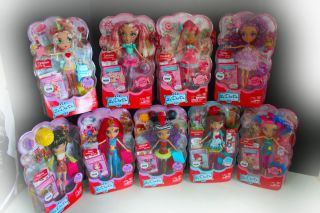 LA DEE DA DOLLS New In Hand! ENTIRE SET! 9 Dolls NIB World Sweet Party