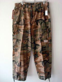 KURTZ Cargo Pant CAMO Camouflage*Military Paratrooper Airborne* L/XL
