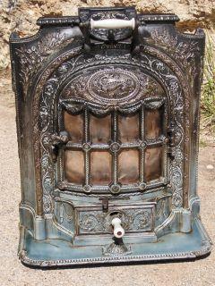 La Salamandre Louis XVI Antique French Stove Early 1900s *Rare in