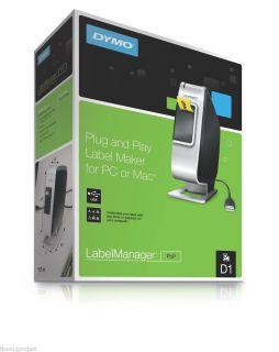 New Dymo LabelManager PNP Electronic USB Label Maker Printer Bundle