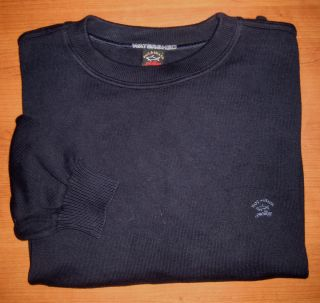 Mens Paul Shark Yachting Sweater Navy Blue L Large