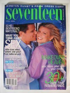 2000 Seventeen Magazine Jessica Simpson Nick Lachey