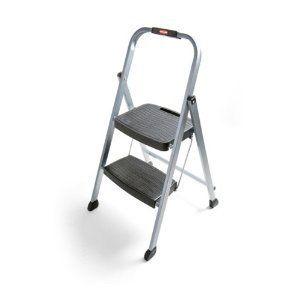 200 Pound Folding 2 Step Steps Stool Ladder Ladders Foot Kitchen New