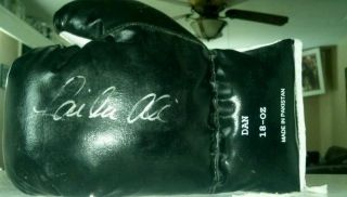 Laila Ali Signed Boxing Glove